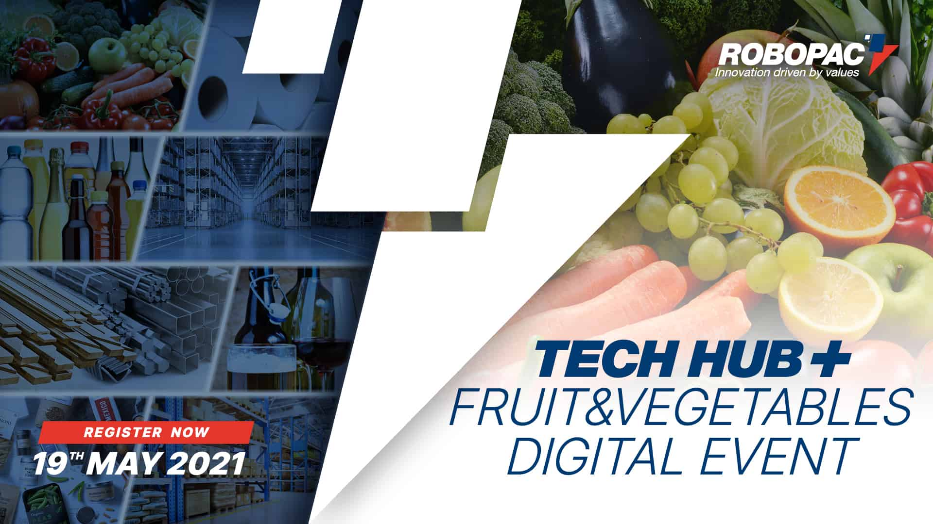 Tech hub fruit and vegetable