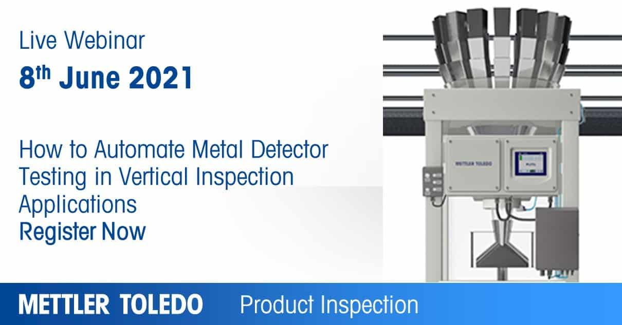 metal detector, vertical metal detector, live webinar