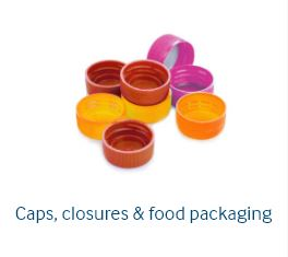 Caps, closures & food packaging