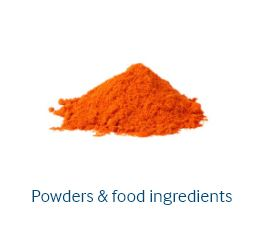 Powders & food ingredients packaging, Powders & food ingredients
