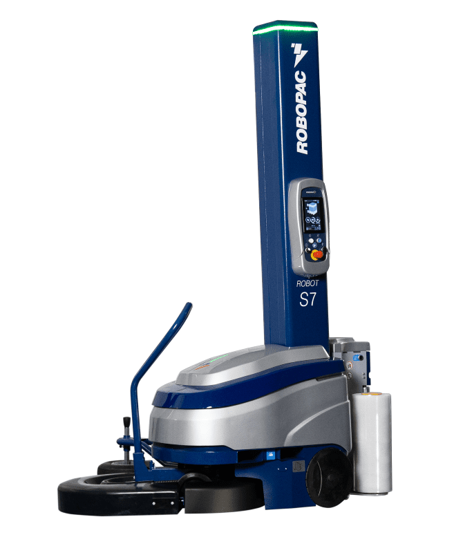 Robopac S7 ، ماكينة تغليف بالتمدد ، Robopac