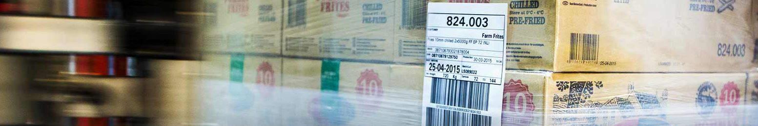 pallet labelling by pallet applicator, pallet labeling