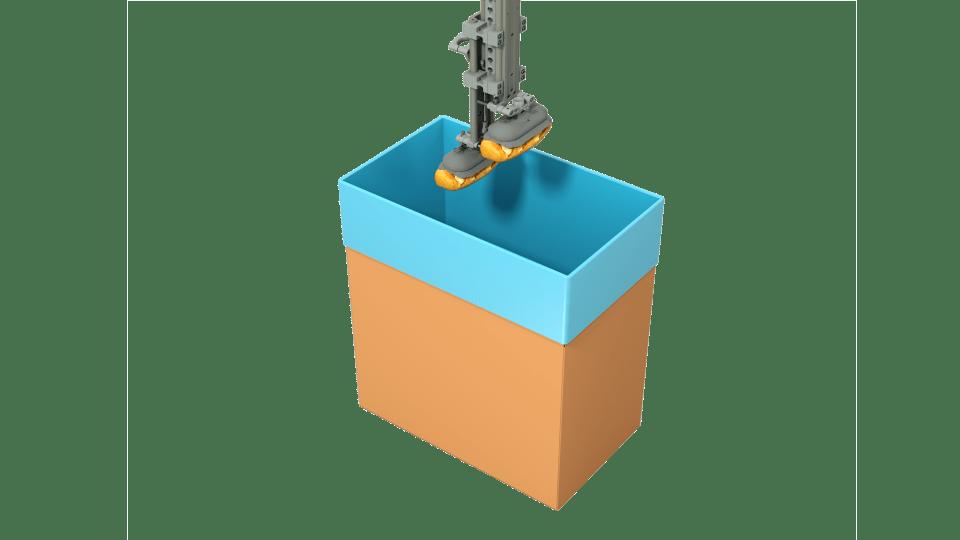Robotic filling machine, Pattyn